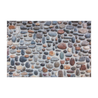 Mosaik-Kiesel-Steinwand-Entwurf Leinwanddruck