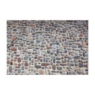 Mosaik-Kiesel-Steinwand Leinwanddruck