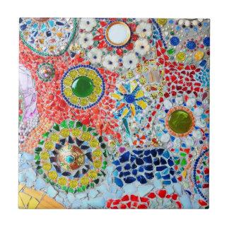Mosaik-Kreation Kleine Quadratische Fliese