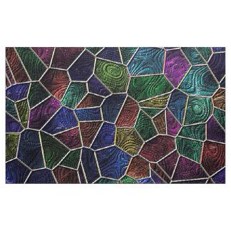 Mosaik Lora, Mehrfarben Stoff
