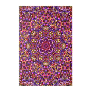 """Mosaik-Muster-Acrylwand-Kunst, 24"""" x 6"""" Acryldruck"""