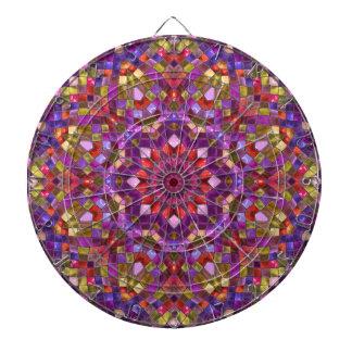 Mosaik-Muster-MetallkäfigDartboard Dartscheibe