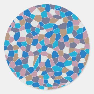 Gebrochenes glas aufkleber for Mosaik aufkleber