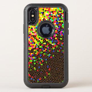 Mosaik OtterBox Defender iPhone X Hülle