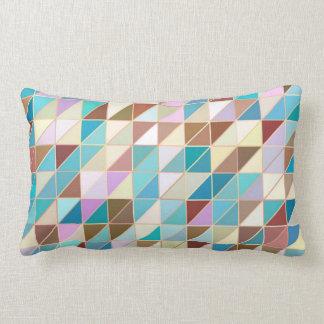 Mosaik - Pastelle und Erdtöne Kissen