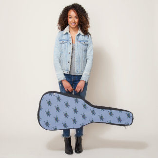 Mosaik-Schildkröte Gitarrentasche