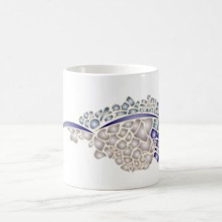 Mosaik-Seemöwe Kaffeetasse