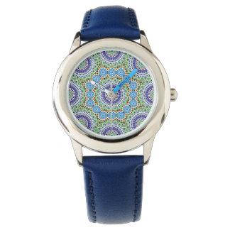 Mosaik-Uhr Armbanduhr