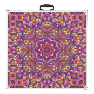 """Mosaik-   Vintages Kaleidoskop 96""""     Pong Beer Pong Tisch"""