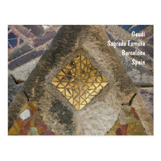 Mosaik vom Sagrada Familia Postkarte
