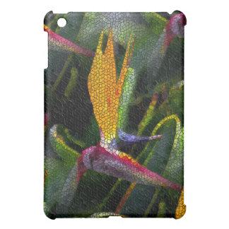 Mosaik von Vogel-von-Paradies Blumenmuster iPad Mini Schale