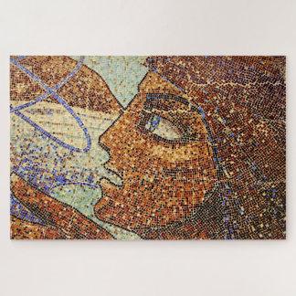 Mosaik-Wand-Kunst Puzzle