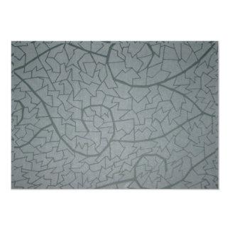 Mosaik-Welle 12,7 X 17,8 Cm Einladungskarte