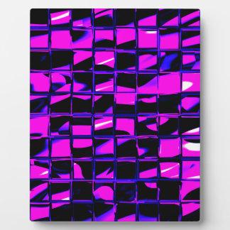Mosaikfliese (lila) fotoplatte