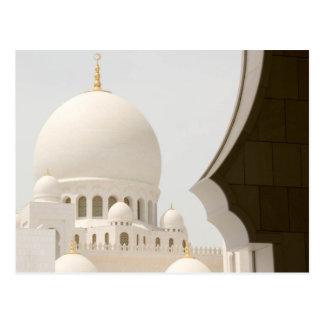 Moschee 3 Scheichs Zayed Postkarte