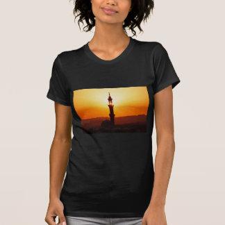 Moschee am Sonnenuntergang T-Shirt