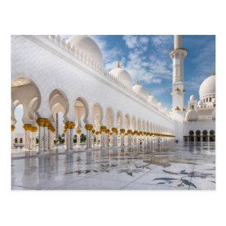 Moschee Scheichs Zayed Postkarte