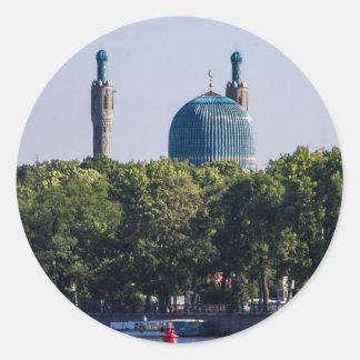 Moschee St Petersburg Russland Runder Aufkleber
