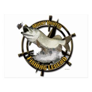 Moschusartige Jägerlegende Postkarten