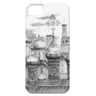 Moscow Kremlin design by Schukina g048 Barely There iPhone 5 Hülle