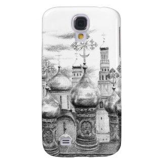 Moscow Kremlin design by Schukina g048 Galaxy S4 Hülle