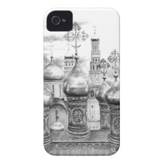 Moscow Kremlin design by Schukina g048 iPhone 4 Cover