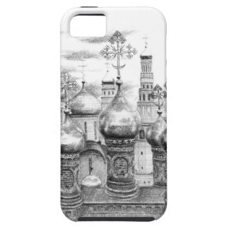Moscow Kremlin design by Schukina g048 iPhone 5 Etui