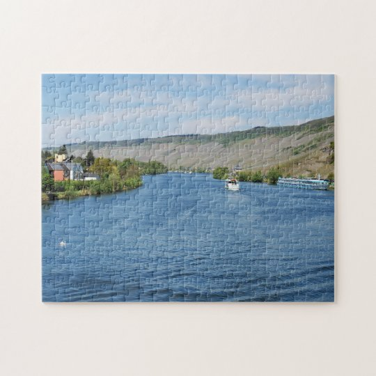Mosel in Bernkastel-Kues Puzzle