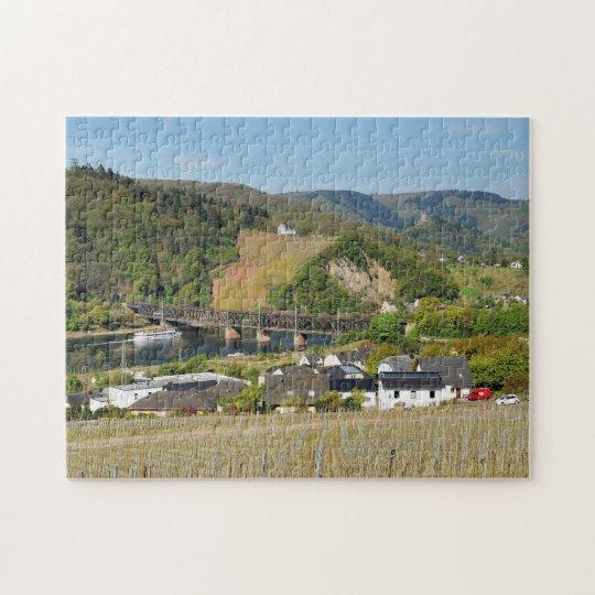 Moselbrücke bei Bullay Puzzle
