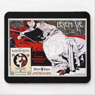 Moser Kolo 1900 - Lesen Sie - las mich Mauspads