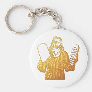 Moses - 10 Gebote - beststes Gebot Schlüsselanhänger