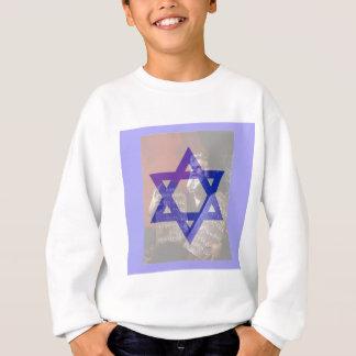 Moses, die Tabletten und der Davidsstern Sweatshirt