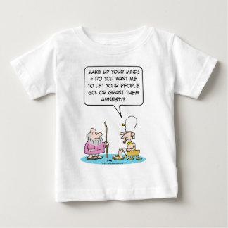 Moses-Pharaobewilligungs-Amnestiebibel Ägypten Baby T-shirt
