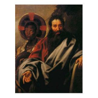 Moses und seine äthiopische Ehefrau durch Jakob Postkarte