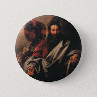 Moses und seine äthiopische Ehefrau Runder Button 5,1 Cm