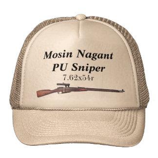 Mosin Nagant PU-Scharfschütze-Hut Trucker Kappe