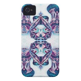 Moskau malend blau/lila iPhone 4 hüllen