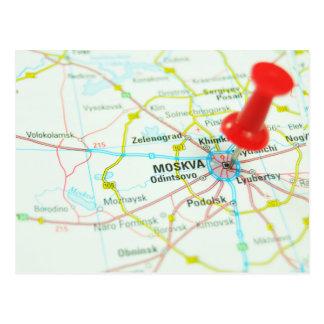 Moskau Postkarte