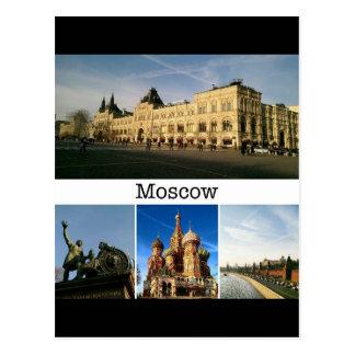 Moskau, Postkarte