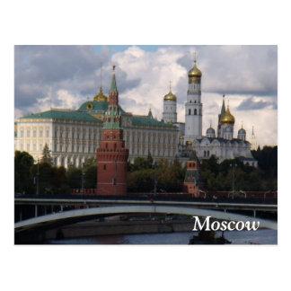Moskau, Russland; Der Kreml-Postkarte Postkarte