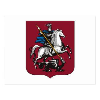 Moskau-Wappen Postkarte
