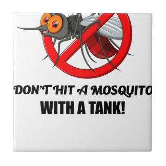 Moskito schlagen es nicht mit einem Behälter Keramikfliese