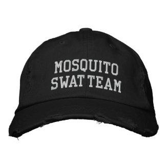 MOSKITO-SWAT-TEAM-HUT [Schwarzes] Bestickte Kappe