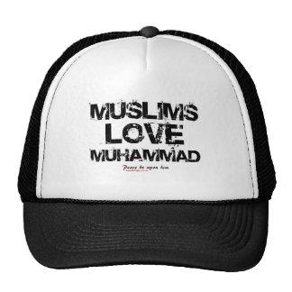Moslem-Liebe Mohammed Kappe