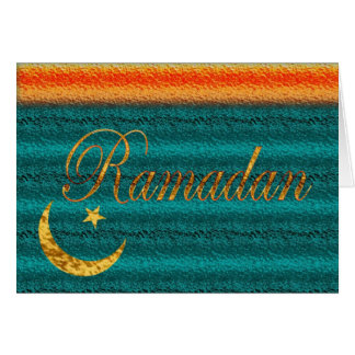 Moslems Ramadans Eid Mubarak islamisch Karte