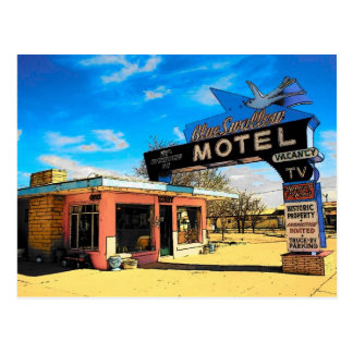 Motel-Postkarte des Weg-66 - besonders angefertigt Postkarten