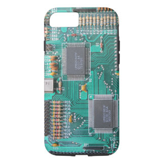 Motherboard: Computerlogikbrett-Foto iPhone 7 Hülle