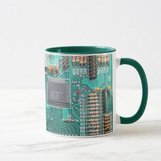 Motherboard, Leiterplatte-Foto, Computer-Nerd Tasse