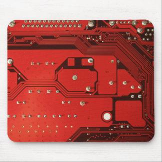 MOTHERBOARD ROTE Druck-Mausunterlage Mousepad