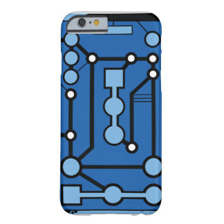 Motherbox Blau Barely There iPhone 6 Hülle